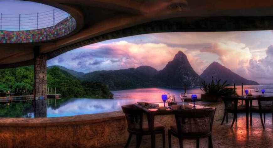 Jade Mountain All Inclusive Adults Only Resort In St Lucia
