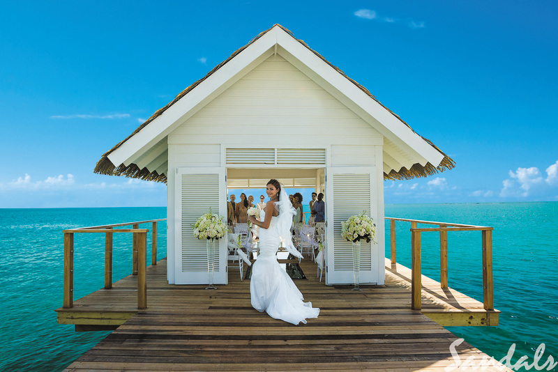 Sandals White House Wedding