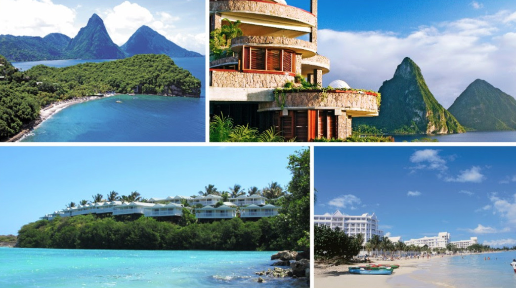 Top honeymoon destinations st lucia jamaica barbados for Best caribbean honeymoon locations