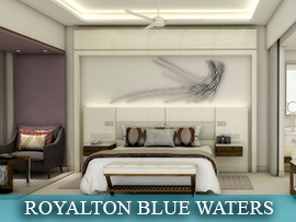 Royalton Blue water