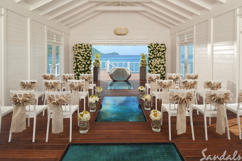 Sandals Grande St Lucia Wedding Exquisite Vacations Travel