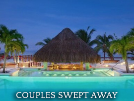 couples swept away resort