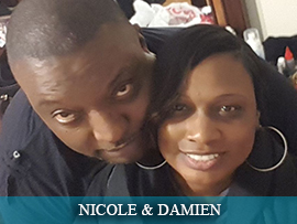 Nicole Chandler & Damien Hall