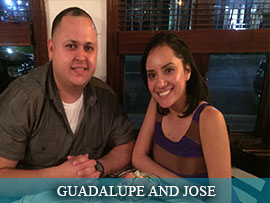 GUADALUPE GARCIA AND JOSE CASTEL
