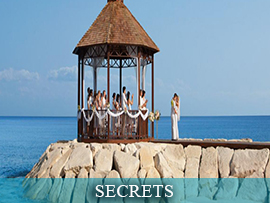 Secrets Complimentary Wedding Packages