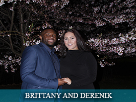 Brittany Clements and Derenik Culbreath
