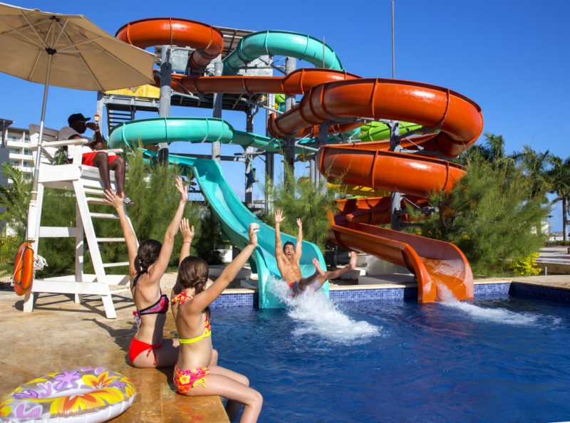 Royalton Blue Waters water park