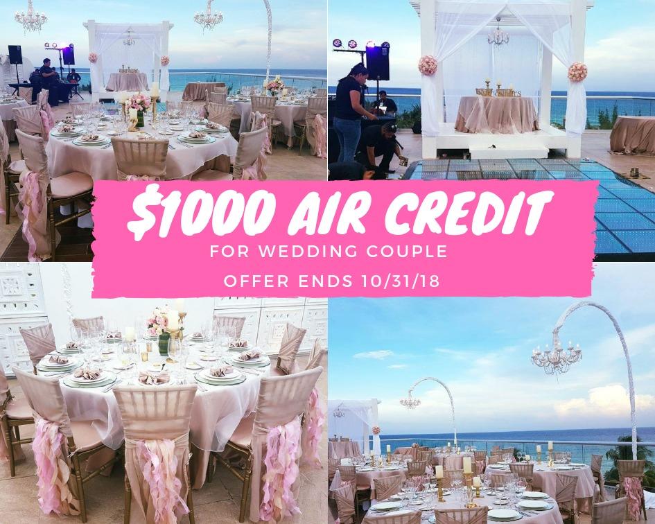 1000 off air credit