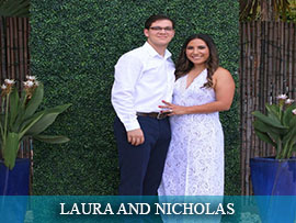 Laura Marques and Nicholas Montoto