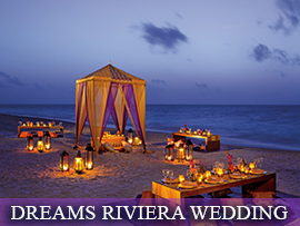 Dreams Riviera Cancun Indian Wedding