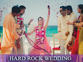 Hard Rock Indian Wedding