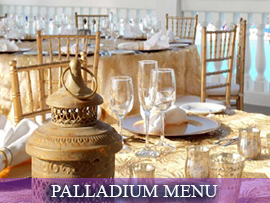 Palladium South Asian Menu