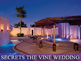 Secrets the Vine Indian Wedding Package
